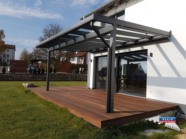 Terrassenüberdachungen Aus Glas Und Aluminium Von Suntec ~ Besten alu terrassenüberdachung rexopremium vsg glas