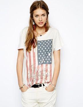 Denim & Supply By Ralph Lauren - T-shirt à motif drapeau américain 50€