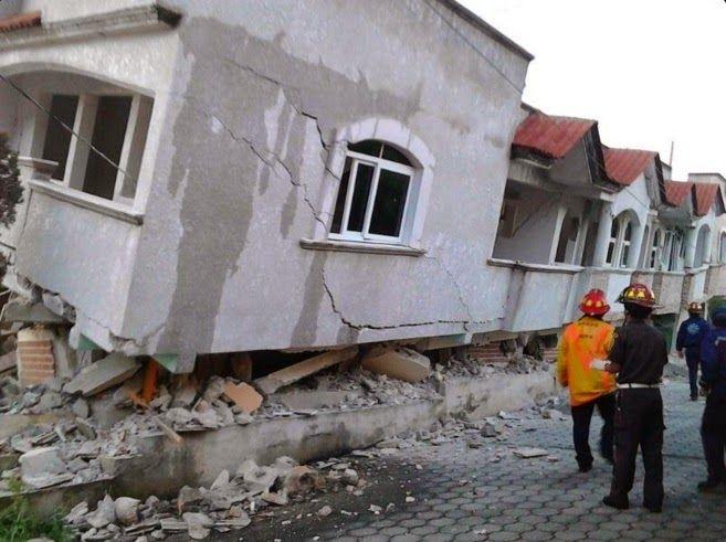 Armario de Noticias: Un terremoto de 6,9 grados sacude el sur de México...