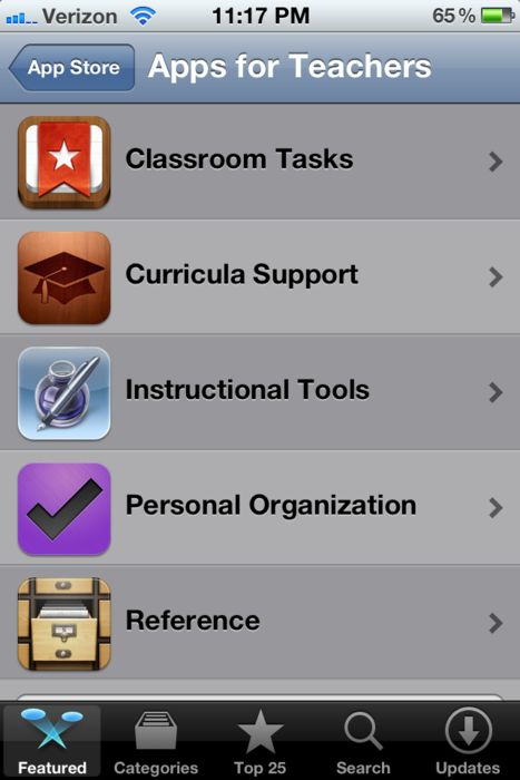 Attention all iPhone users: There are Apps for Teachers on the App Store! The ap…