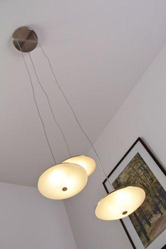 Stunning Details zu LED Design Lampe von Philips H ngeleuchte Chrom Pendelleuchte H ngelampe Leuchte