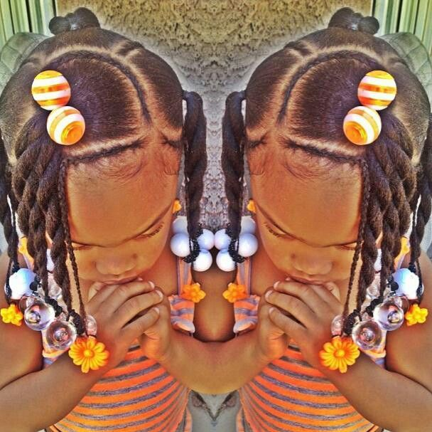 african box braids hairstyles : Hairstyles for african American girls. Little girl hairstyles Pin ...