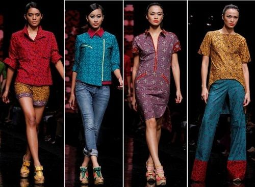 Beautyful Batik from Indonesia - Sportswear style