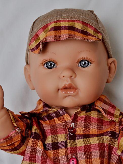 Realistické miminko chlapeček Petřík  od firmy Vestida de Azul