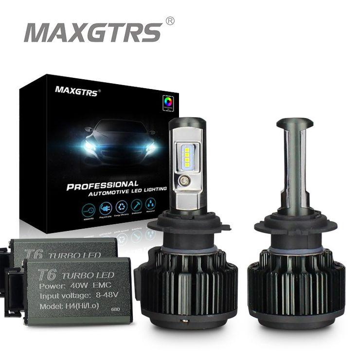 Buy online US $23.65  MAXGTRS H1 H3 H4 H7 H8 H11 9005 HB3 9006 HB4 9012 880 881 70W 8000Lm Car LED Headlight Bulb Canbus 6000K Fog Lamp Bulb 12V 24V