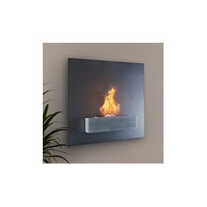Serafin Wall Mount Liquid Fuel Fireplace