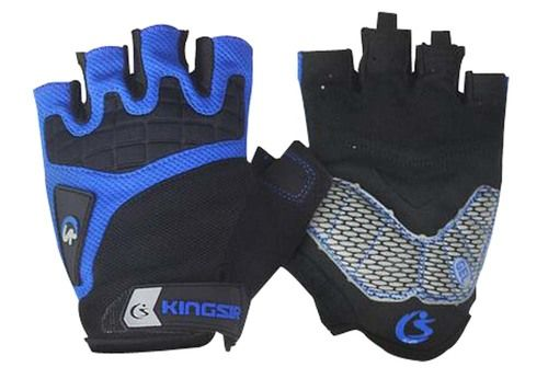 Summer Bike Gloves Cycling Equipment Riding Gloves Half Finger Blue