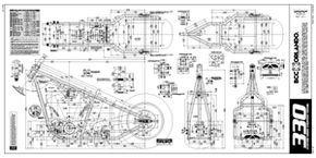 330 hard tail chopper frame plans