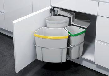 Mülltrennsystem Öko-Center 3 | Würth - available in Germany