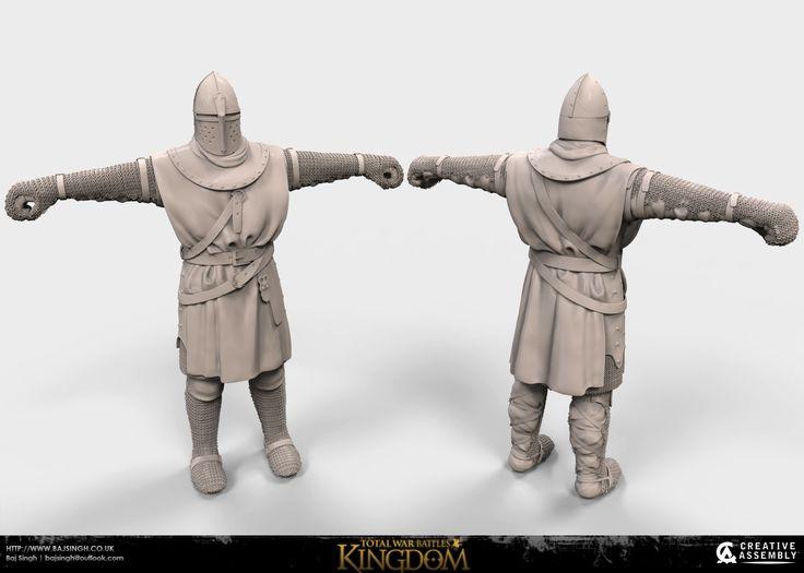 "ArtStation - ""TOTAL WAR BATTLES: KINGDOM"" sculpts, Baj Singh"