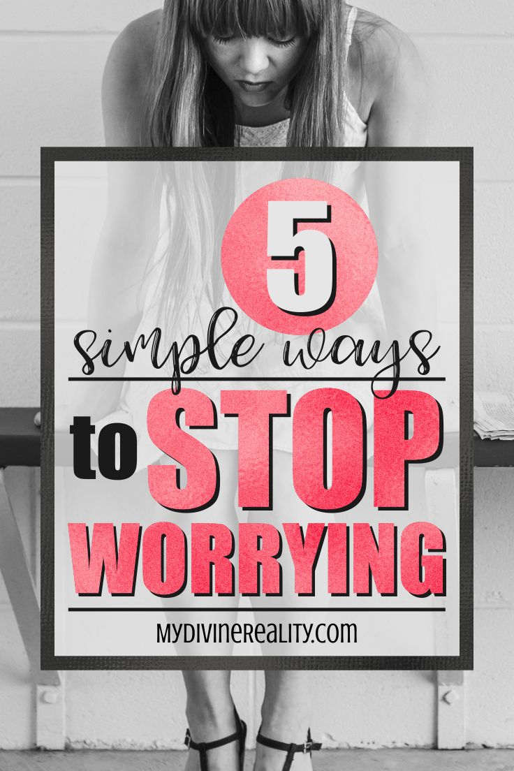 These 5 simple ways to stop worrying are super helpful! I'm so glad I found these AMAZING tips!