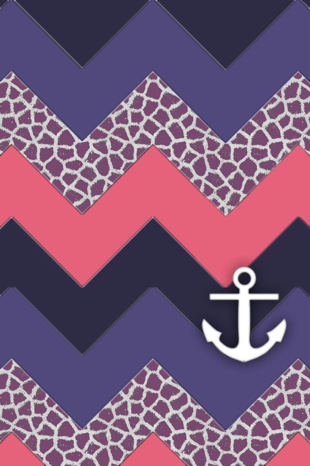 chevron anchor iphone backgrounds and anchor wallpaper on