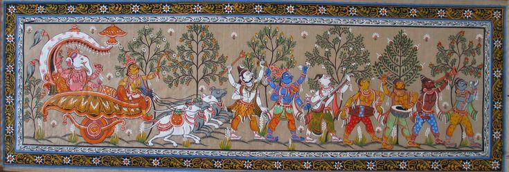 palm-leaf-painting-talapatrachitras-ancient-and-creative-folk-art-of-odisha-1.jpg (2391×807)