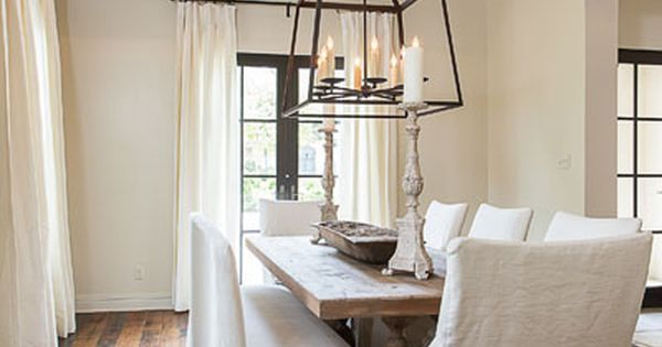 Dining Areas   Bay Hill Design   Austin TX   Beachy   Pinterest   Ana white, White linens and Rustic luxe