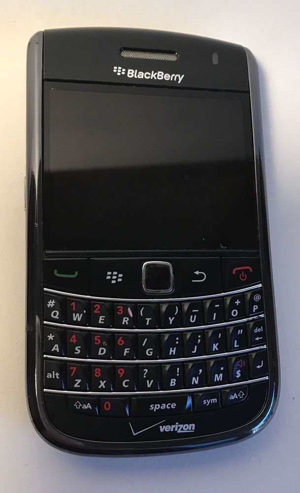 BlackBerry Bold 9650 Black Verizon Smartphone 3.2MP Camera WiFi GSM 3G GPS +A/C 843163060913 | eBay