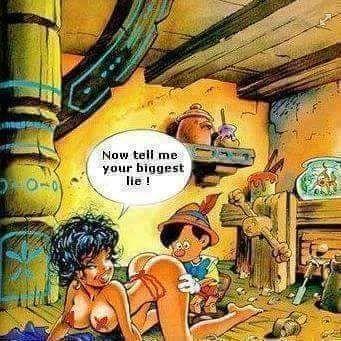Pinocchio ... the good boy ...