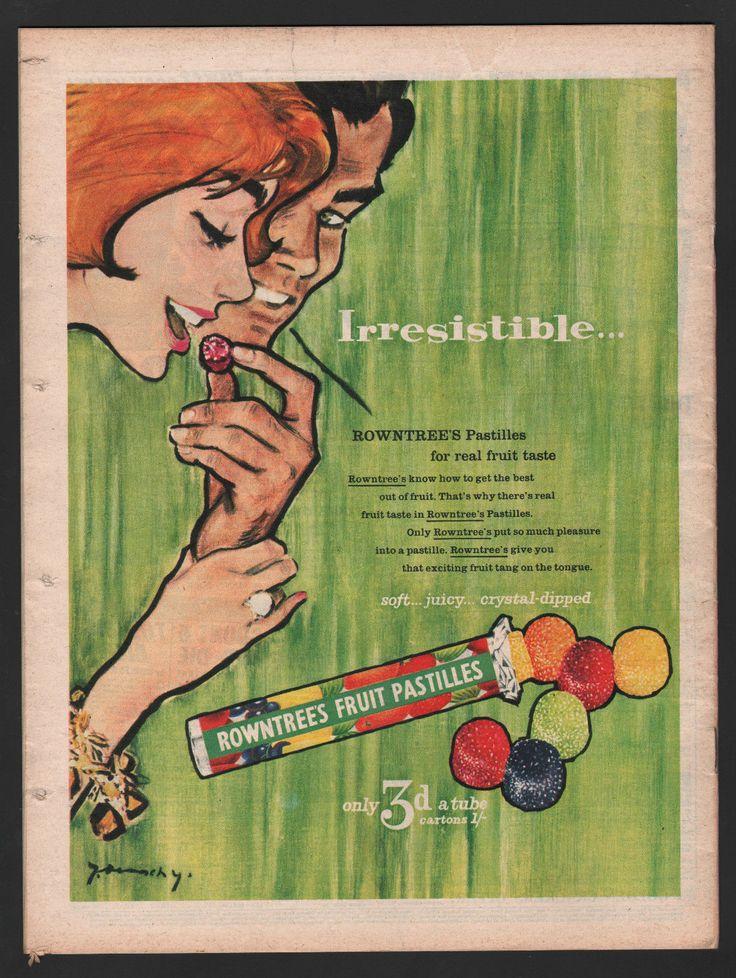 Rowntree's Fruit Pastilles. 1958