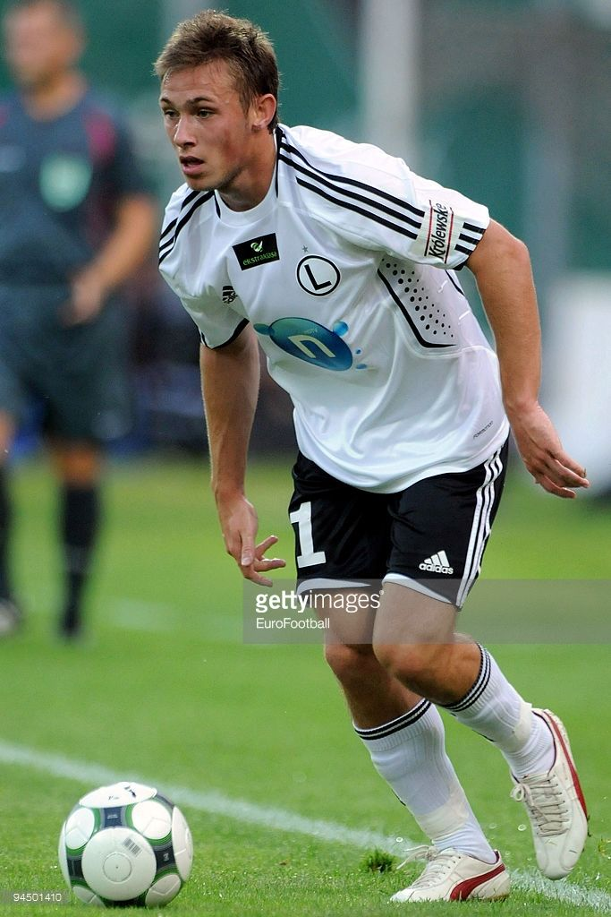 Maciej Rybus of Legia Warszawa during the Ekstraklasa