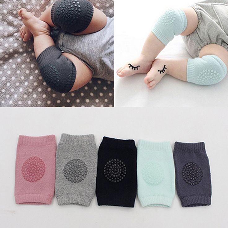 1 Para Baby Knieschützer Leg Protector Anti Slip Krabbeln Zubehör Baby bein Knie Protector Wärmer Baby Krabbeln Protektoren