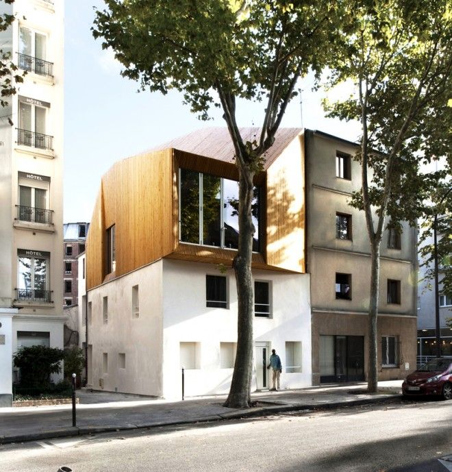 Sur l vation paris 13 sur l vation pinterest paris for Extension appartement
