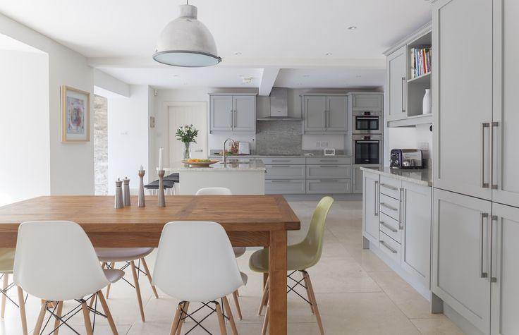 grey scandinavian kitchen For the xolour kitchen Pinterest - küche weiß matt