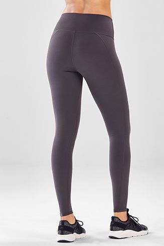 100bbeeb4 High-Waisted Solid PowerHold® Legging