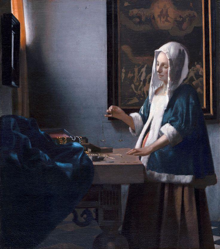 vermeer ważąca perły