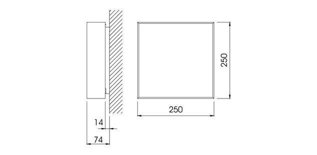Orto surface / Orto superficie / Orto apparent