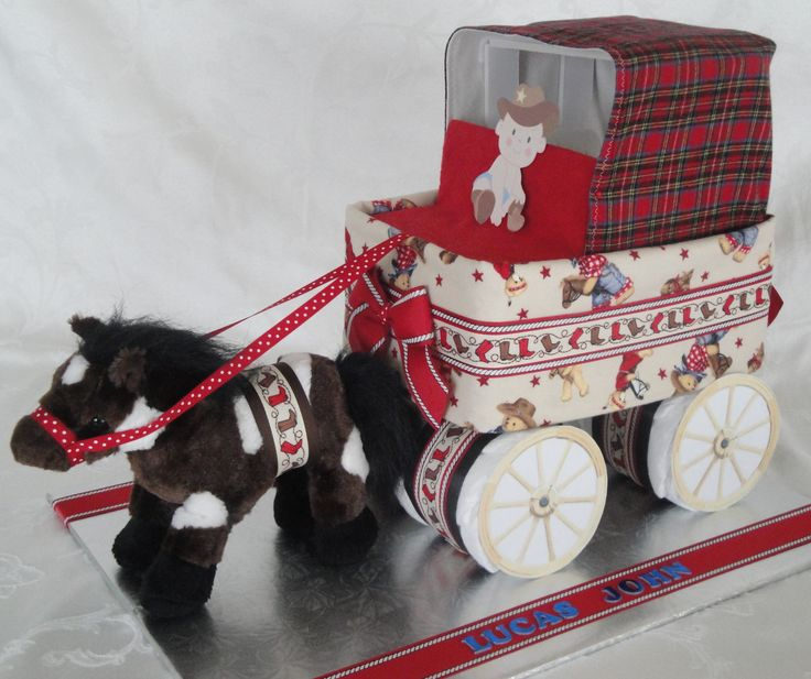 How To Make A Horse And Carriage Cake