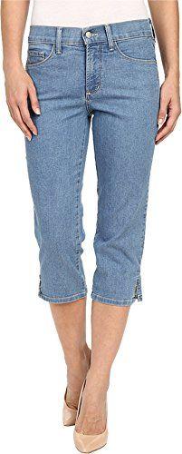 NYDJ Women's Ariel Crop Novelty Rivet Trim in Milwaukee Milwaukee Jeans 00 X 21