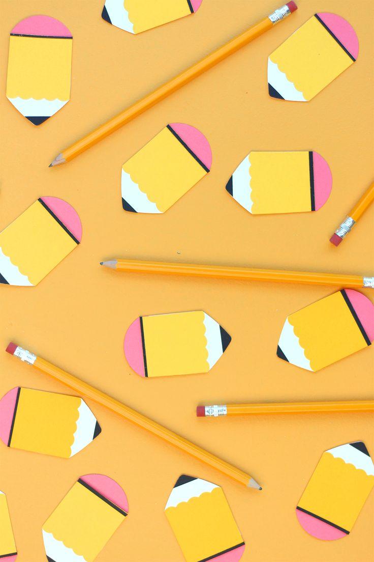 Paper Punch Pencils | damask love | ART PAPER PIECING ...