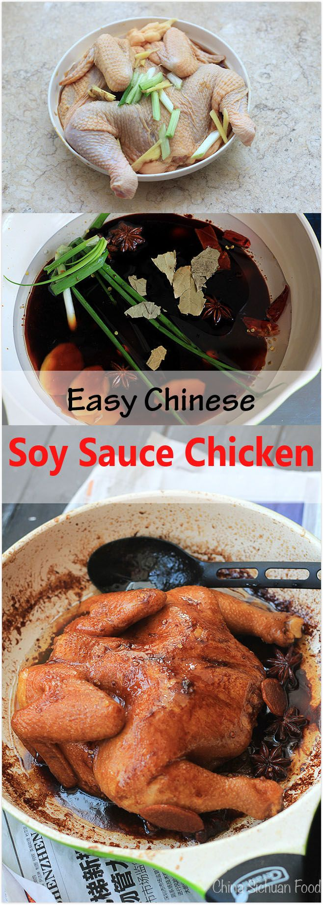 67 best chinese herbal recipe images on pinterest easy chinese soy sauce chicken forumfinder Images
