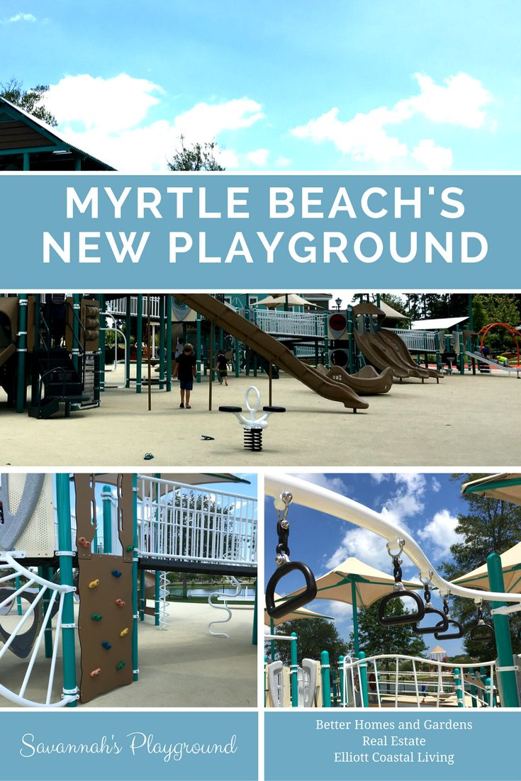 Savannahs Playground, an all-inclusive enabling playground and park in Myrtle Beach | Myrtle Beach | North Myrtle Beach | North Myrtle Beach Real Estate | North Myrtle Beach Real Estate Agents | Myrtle Beach condos for sale | Beach property for sale | Myrtle Beach oceanfront condos for sale | Better Homes and Gardens Real Estate | Better Homes and Gardens Real Estate Elliott Coastal Living
