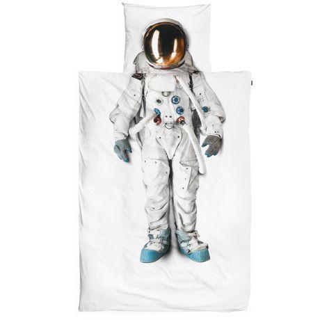 夢の中で宇宙飛行士になれる掛け布団&枕カバーセット - シングルサイズ by SNURK