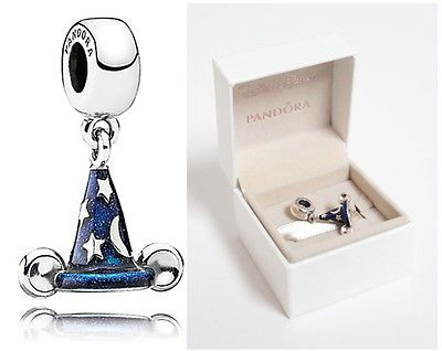 230fa88f476 Make your gifts special Disney parks pandora mickey sorcerer hat sterling  silver dangle charm -new ...