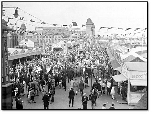 Midway at the CNE 1930