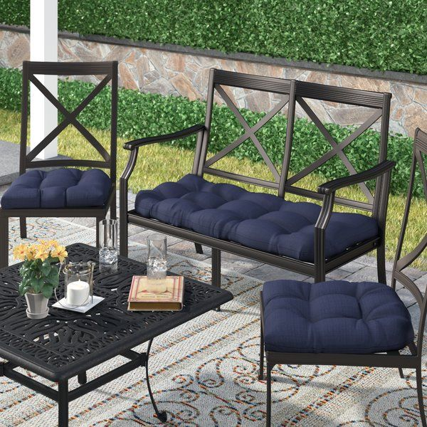 Best 3 Piece Indoor/Outdoor Bench and Dining Chair Cushion