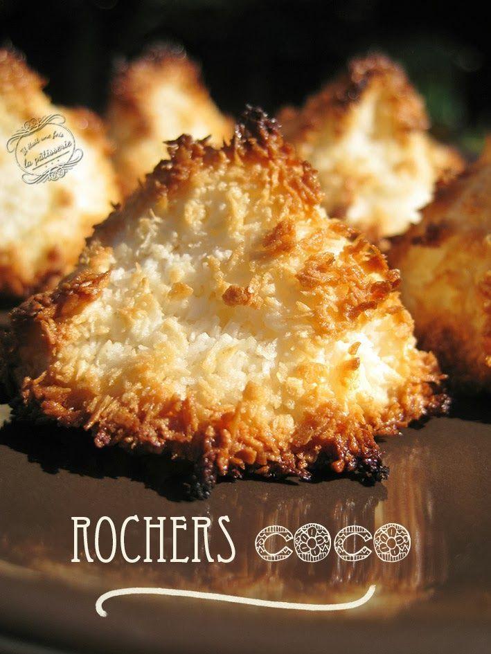 Dessert : rocher coco