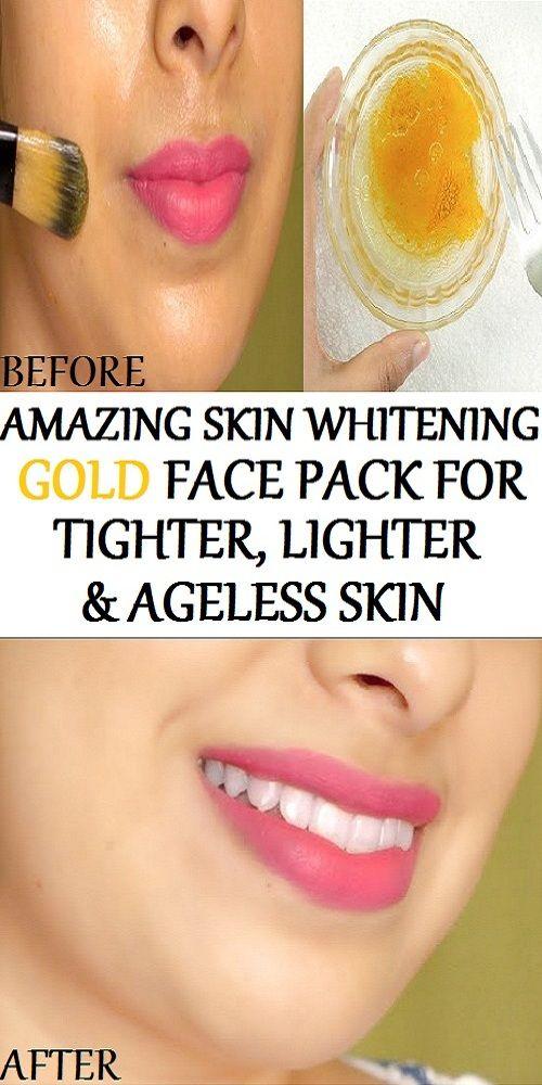 Miracle Skin Whitening Gold Face Pack For Tighter, Lighter & Ageless Skin