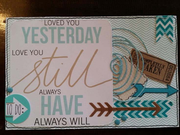 #52 Create a card without mixed media products :)