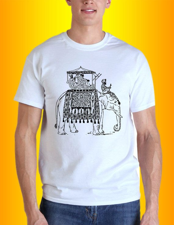 Festive indian elephant   inspired design for men by Roomancee, $18.00