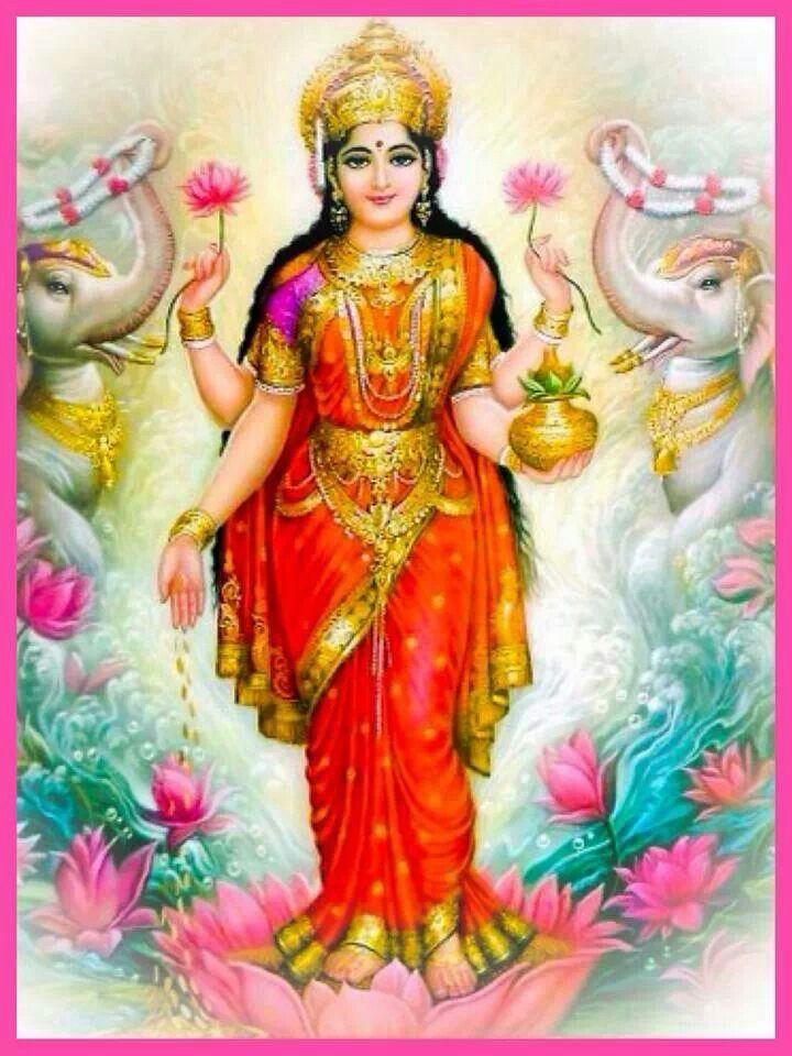 Laxmi Wallpaper Hd Jai Shree Vaibhav Lakshmi Maa Indian Goddess Durga