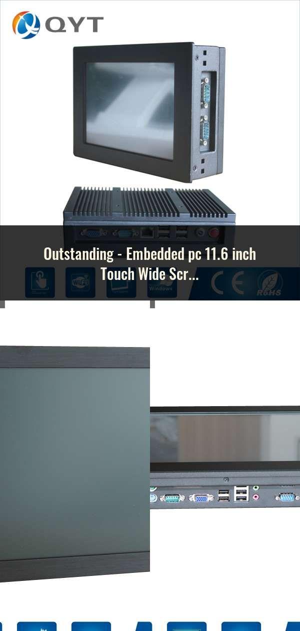 Embedded pc 11 6 inch Touch Wide Screen 4GB/8GB DDR3 32GB SSD