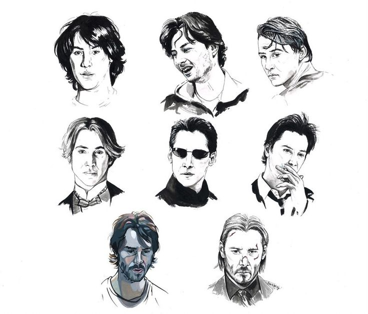 """Click on photo to get to the article:  BRIGHT WALL/DARK ROOM FEBRUARY 2016: """"THE GRACE OF KEANU REEVES"""" BY ANGELICA JADE BASTIÉN by The Editors February 9, 2016    """