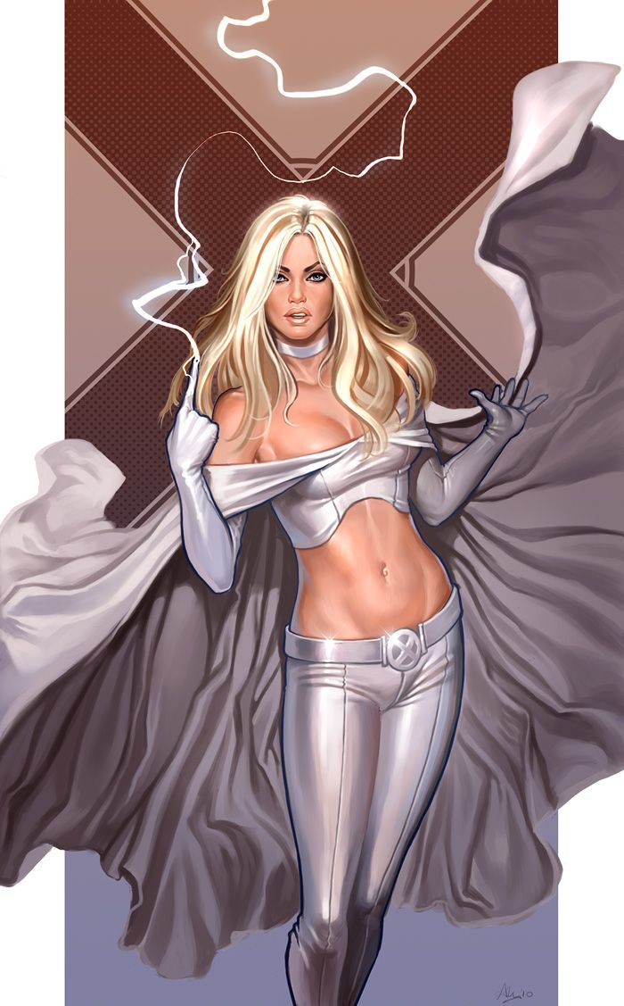 Emma Frost will always have a special place in my inner 8th grader  39 s pants  I mean memories