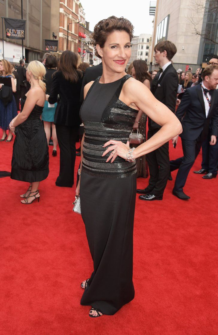 Pin for Later: The Stars Brought Sexy Back to London at the Olivier Awards Tamsin Greig