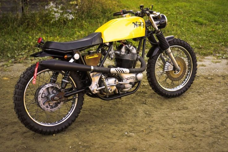 I love scrambler bikes and the Norton Commando is one of the best.
