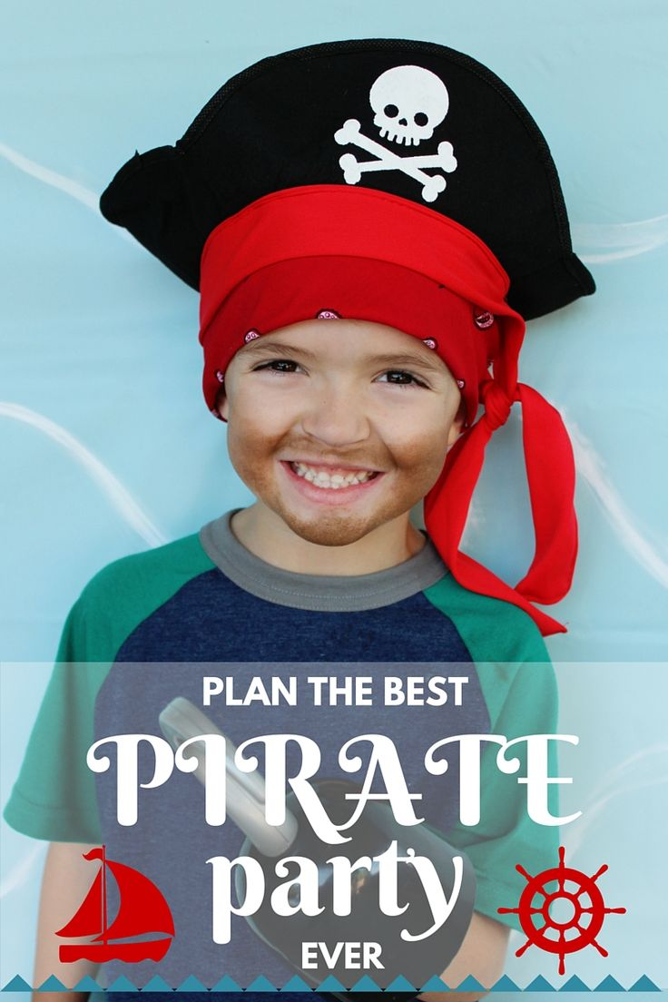 Oh my word. So many cute ideas for a pirate party!