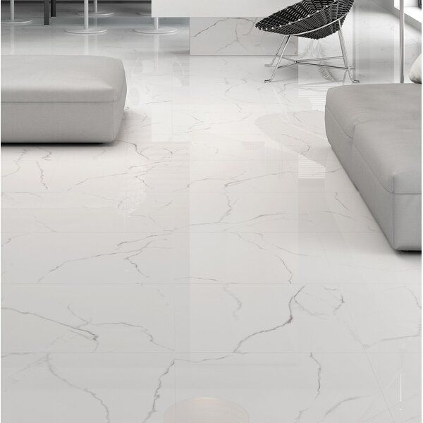 Sculpture 12 X 24 Porcelain Stone Look Wall Floor Tile In 2020 Tile Floor Flooring Metal Mosaic Tiles