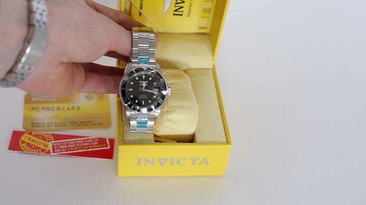INVICTA 8926 Pro Diver Automatic Unboxing